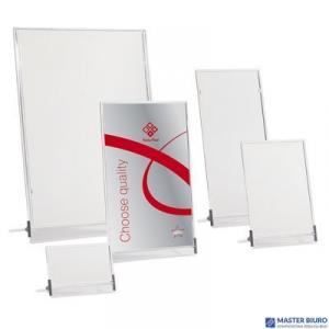 Tabliczka stojąca jednostronna 11x15cm 0403-0006-00 PANTA PLAST