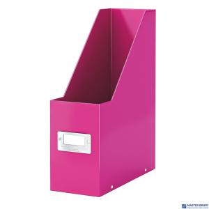 Pojemnik na czasopisma różowy LEITZ Click & Store 60470023