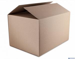 Karton wysyłkowy DATURA 505x242X363 tektura trójwarstwowa szara