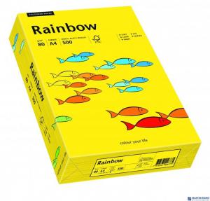 Papier ksero kolorowy RAINBOW ciemnożółty R18 88042387