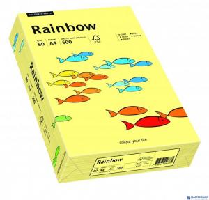 Papier ksero kolorowy RAINBOW jasnożółty R12 88042297