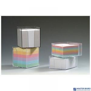 Kostka nieklejona pojemnik DATURA 85x85x85 kolorowa