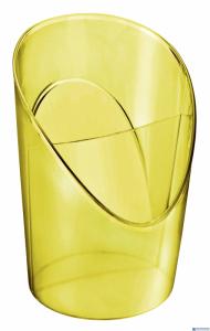 Kubek na długopisy ESSELTE COLOURICE żółty 626267