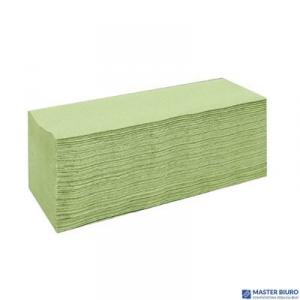 Ręcznik składany ZZ LAMIX CLIVER ESTETIC ECONOMIC makulatura zielony 1warstwa 4000 listków 2240