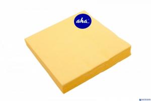 Serwetki AHA żółte 20sztuk