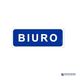 Tabliczka/Naklejka BIURO