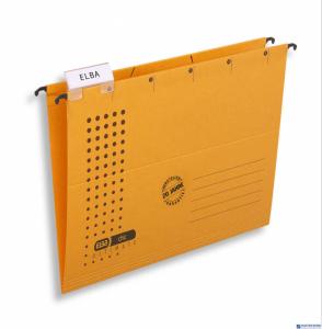 Teczka zawieszana CHIC A4 żółty ELBA 100552087