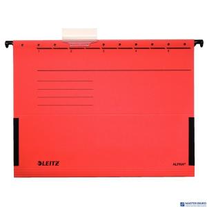 Teczka zawieszana ALPHA czerwona z rozszerzanymi bokami LEITZ 19860125