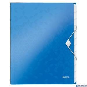 Teczka 12 przeródek A4 200k niebieska LEITZ WOW 46340036