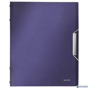 Teczka 6 przeródek A4 200k tytanowy błękit LEITZ STYLE 39950069