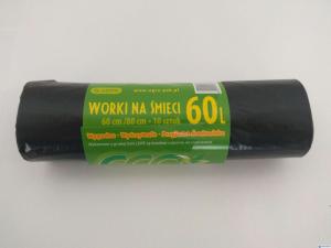 Worki na śmieci  60L 10szt/op.