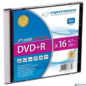 DVD+R ESPERANZA 4,7GB x16 - Slim 1 1119