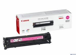 Toner CANON (CRG-716M) purpurowy 1500str LBP5050/5050n