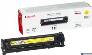 Toner CANON (CRG-716Y) żółty 1500str LBP5050/5050n