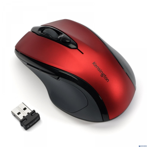 Mysz bezprzewodowa KENSINGTON Pro Fit czerwona K72422WW