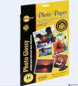Papier fotograficzny laser błyszczący, 160 g/m, A4 20 arkuszy YELLOW ONE 150-1377