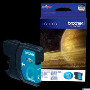 Tusz BROTHER (LC1100C) niebieski 325str DCP-185C/385C/585CW/669