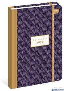Kalendarz książkowy B6 192str. ornament  INTERDRUK