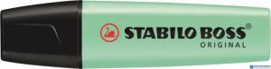 Zakreślacz STABILO BOSS pastelowy zielony 70/116