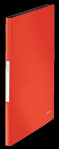 Album ofertowy LEITZ SOLID A4 20 kieszeni czerwony jasny 45641020