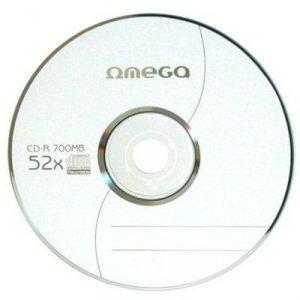 Płyta CD-R 700MB 52X KOPERTA*1 OMEGA OMK1