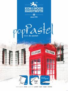 Blok do pasteli POP PASTEL 300x420 220g biały KOH-I-NOR BLO-PA300
