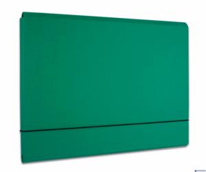 Teczka PP A3  315x435x10mm NA GUMKĘ - zielona 90544