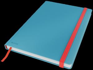 Notatnik Leitz Cosy, B5, kratka, niebieski 44820061
