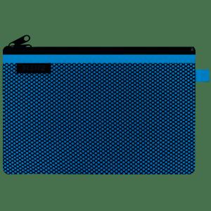 Koszulka z suwakiem  z dwoma przegródkami Leitz WOW, rozmiar L, niebieska 40130036