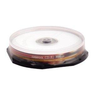 Płyta CD-R 700MB 52X CAKE*10 OMEGA OM10