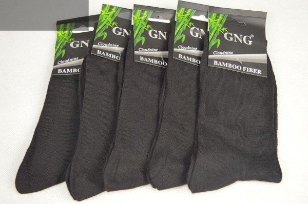 Skarpety bambusowe czarne 5 par