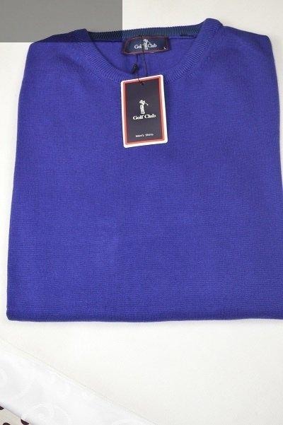 Sweter męski cienki fioletowy.
