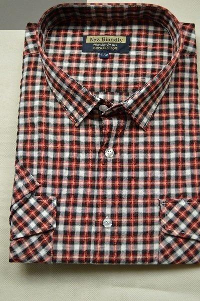 Duża koszula z kory czerwona w kratę nadwymiar.