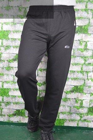 Spodnie męskie dresowe czarne nadwymiar