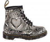 Buty Dr. Martens 1460 Egret Playing Card Backhand 23507112