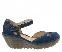 Sandały Fly London YUNA Blue Cupido P500016118