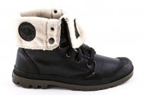 Buty Palladium BAGGY LEATHER Black Point OCIEPLANE 02610072