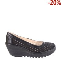 Czółenka Fly London YTEC 014 Black Black Cupido Mousse P501014000