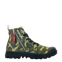Buty Palladium PAMPA HI OUTZIP #UniformOfThePeople Camouflage 77023959