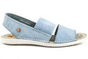 Sandały Softinos TAI 383SOF Pastel Blue Washed