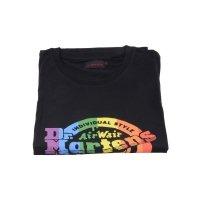 T-Shirt Dr. Martens LOGO Black Rainbow AC723002