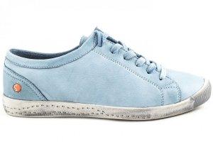 Półbuty Softinos ISLA Pastel Blue Washed P900154545