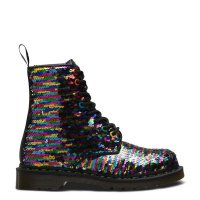 Buty Dr. Martens 1460 PASCAL Rainbow Multi+Silver Sequin 24594980