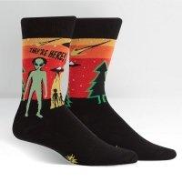 Skarpety męskie Sock It To Me They're Here MEF0385