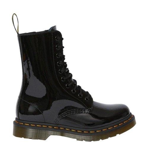 Buty Dr. Martens 1490 Black Patent Lamper 25277001