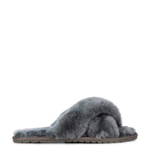 Kapcie Emu AUSTRALIA Charcoal Mayberry W11573