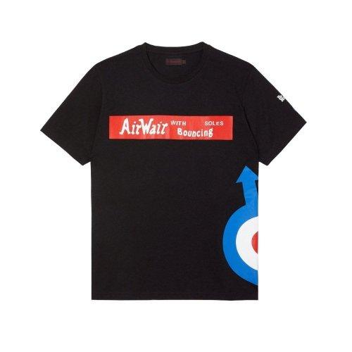 T-Shirt Dr. Martens THE WHO LOGO Black AC826001