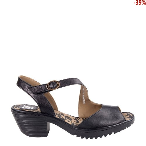 Sandały Fly London WYNO 023 Black Mousse P501023000