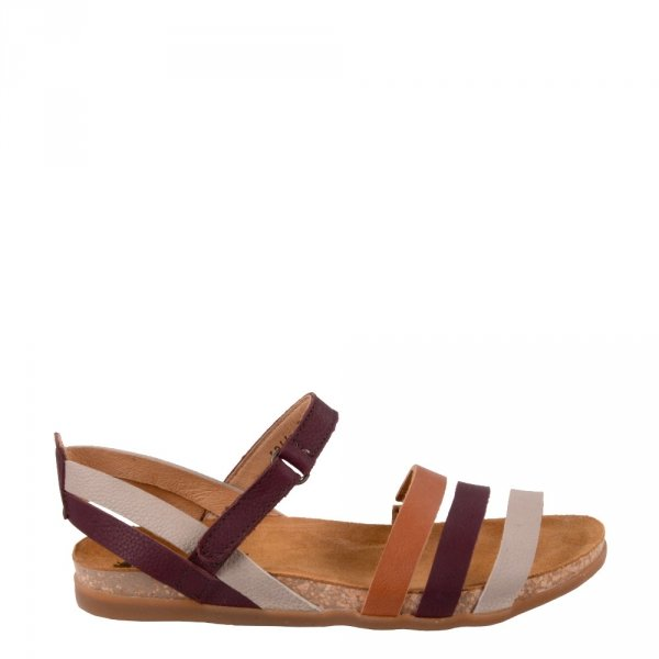 Sandały El Naturalista ZUMAIA N5244 Rioja Mixed Multi Leather