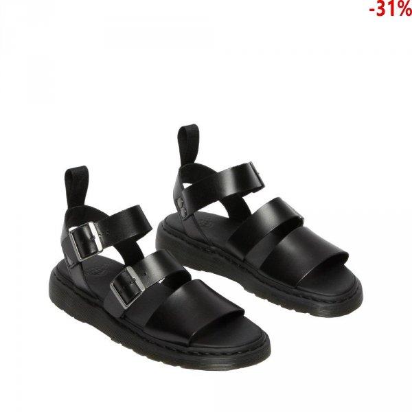 Sandały Dr. Martens GRYPHON Black Brando 15695001